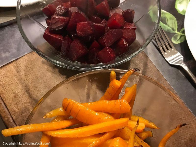 Bietjes en wortel uit de oven